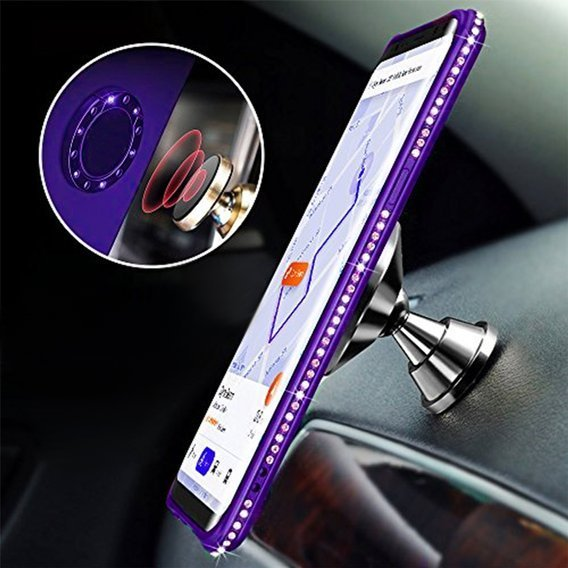 Etui Bling do Huawei P Smart Z, Purple