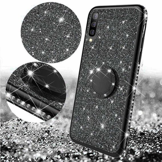 Etui Bling do Samsung Galaxy A7 2018, Black