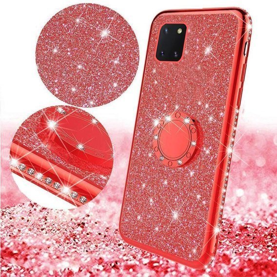 Etui Bling do Samsung Galaxy Note 10 Lite, Red
