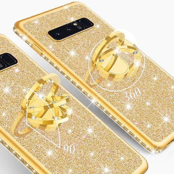 Etui Bling do Samsung Galaxy S10+ Plus, Gold