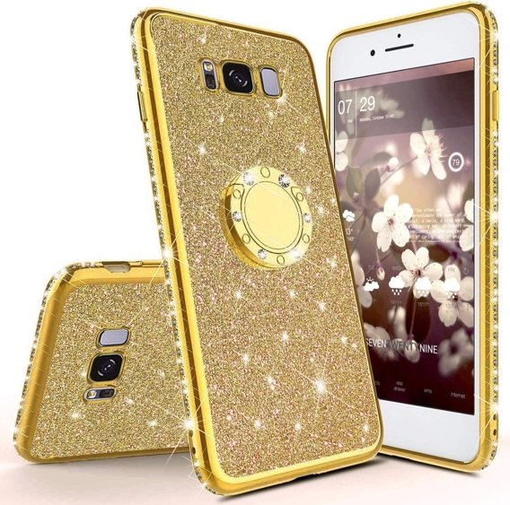 Etui Bling do Samsung Galaxy S8, Gold