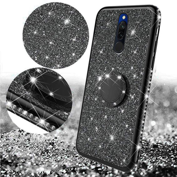 Etui Bling do Xiaomi Redmi 8, Black