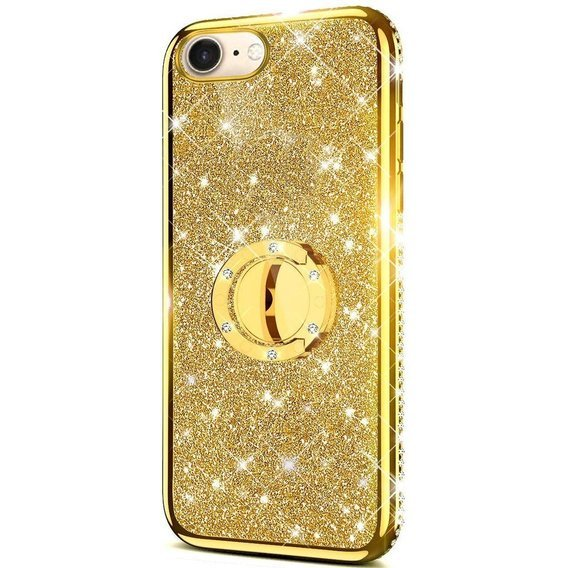 Etui Bling do iPhone 7/8/SE 2020, Gold
