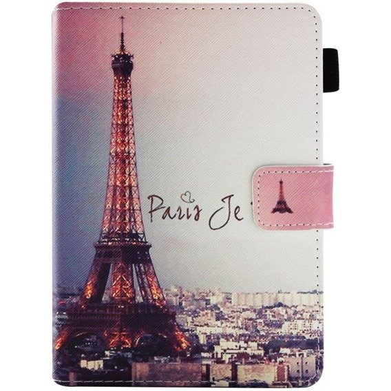 Etui Book Stand Case Amazon Kindle Paperwhite 4 2018 - Eiffel Tower