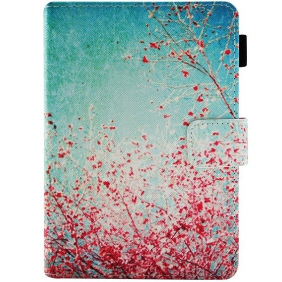 Etui Book Stand Case Amazon Kindle Paperwhite 4 2018 - Flowering Tree