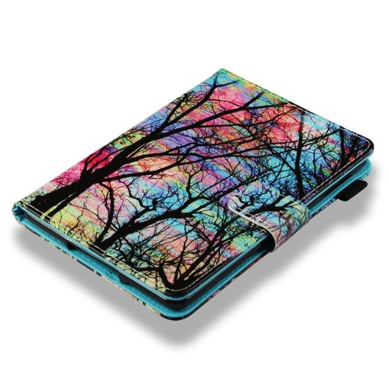 Etui Book Stand Case Amazon Kindle Paperwhite 4 2018 - Trees