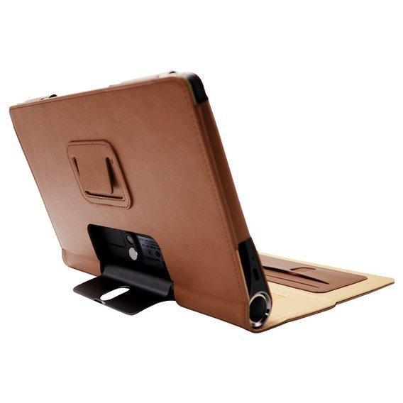 Etui Business Style Flip Leather Stand Case do Lenovo Yoga Smart Tab 10.1 - Brown