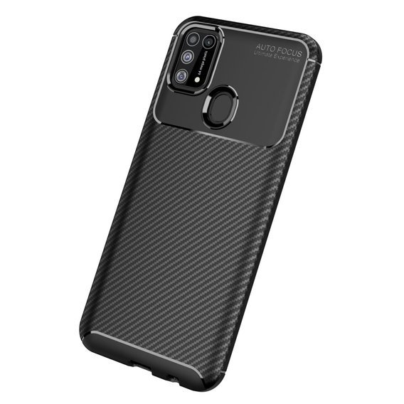 Etui CARBON Gel do Samsung Galaxy M31 - Black
