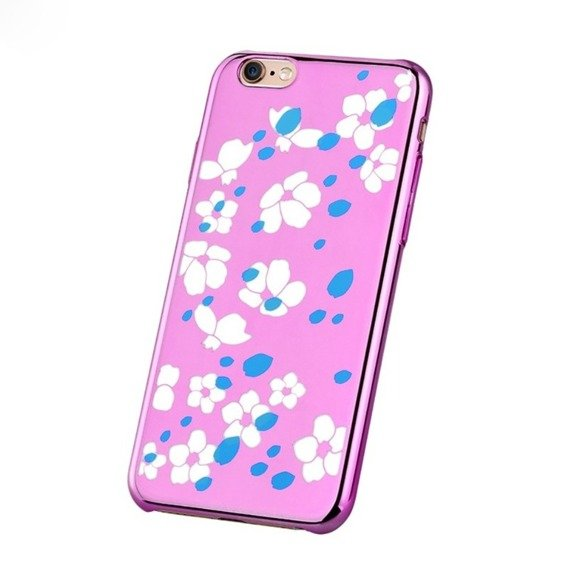 Etui COMMA Bloom Hard Case iPhone 6 6s 4.7 - Różowy