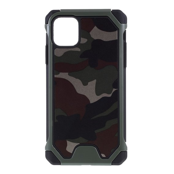 Etui Camouflage Hybrid Case Apple iPhone 11 Pro - Green