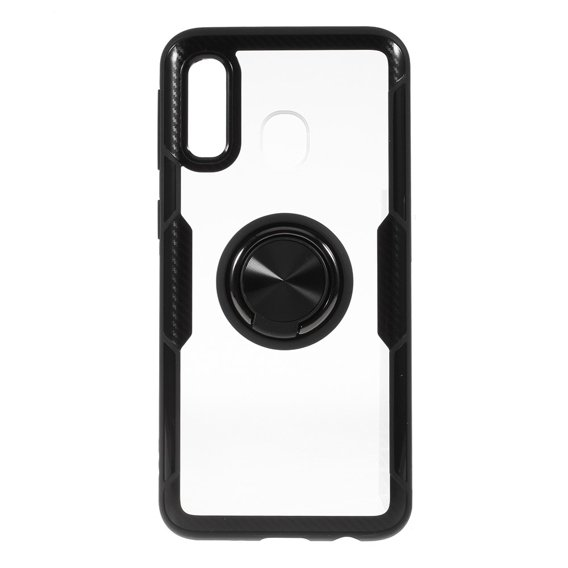 Etui Clear Ring do Samsung Galaxy A40 - carbon black