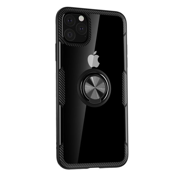 Etui Clear Ring do iPhone 11 Pro Max - carbon black
