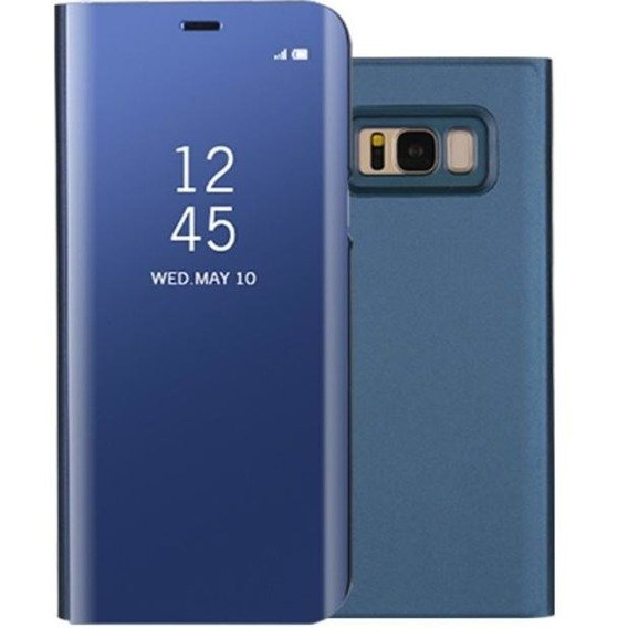 Etui Clear View Standing Cover SAMSUNG Galaxy S8 Plus - Blue
