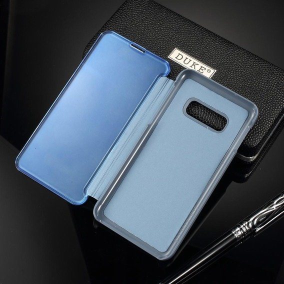 Etui Mirror View Case do Samsung Galaxy S10E - Blue
