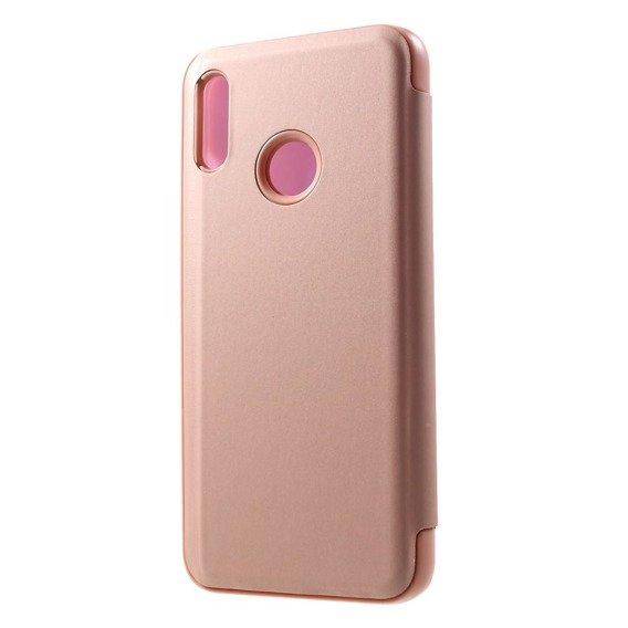 Etui Clear View do Huawei P Smart 2019 / Honor 10 Lite - Rose Gold