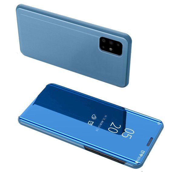 Etui Clear View do Samsung Galaxy A71 - Baby Blue