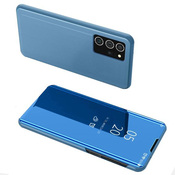 Etui Clear View do Samsung Galaxy Note 20 Ultra - Blue