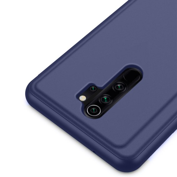 Etui Clear View do Xiaomi Redmi Note 8 Pro - Dark Blue