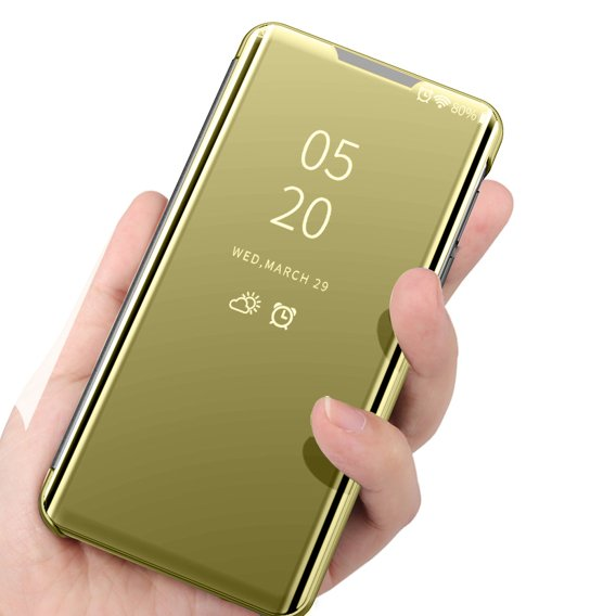 Etui Clear View do Xiaomi Redmi Note 8 Pro - Gold