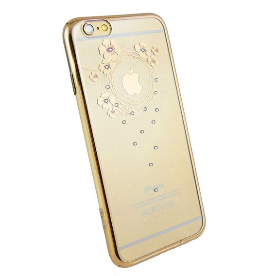Etui DEVIA Garland Series Made With Swarovski Elements iPhone 6/6S 4.7 - Gold