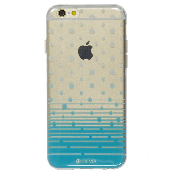Etui DEVIA Polka Diamond With Swarovski Elements iPhone 6/6S 4.7 - Blue