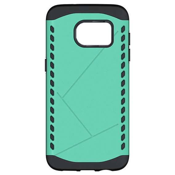 Etui DUAL Shield SAMSUNG GALAXY S7 Edge - Mint
