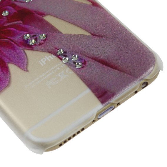 Etui Diamond Hard Case Apple iPhone 6 / 6s 4.7 - Flower & Nails