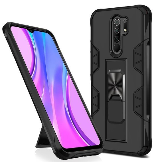 Etui ERBORD ARES do Xiaomi Redmi 9, black