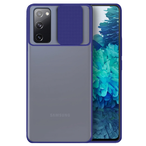 Etui ERBORD CamShield Case do Samsung Galaxy S20 Plus - Dark Blue