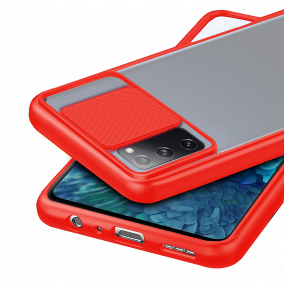 Etui ERBORD CamShield Case do Samsung Galaxy S20 Plus - Red