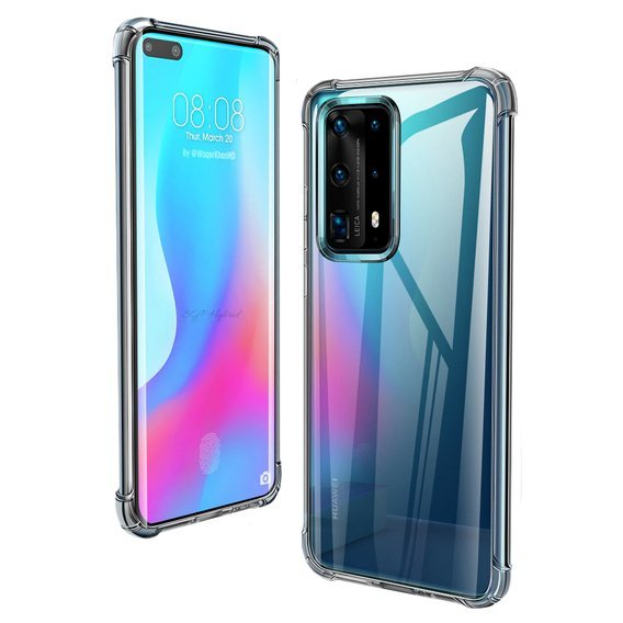 Etui ERBORD Drop-resistant do Huawei P40 - Clear