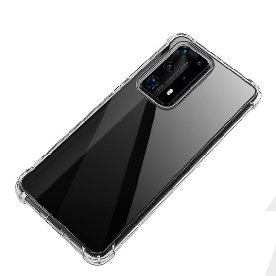Etui ERBORD Drop-resistant do Huawei P40 Pro - Clear
