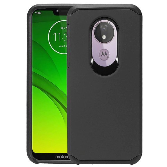 Etui ERBORD Dual Armor do Motorola Moto G7 Power - black v.2