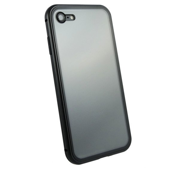 Etui ERBORD Full Glass Magnetic Case do iPhone 8/7 4.7 - Black