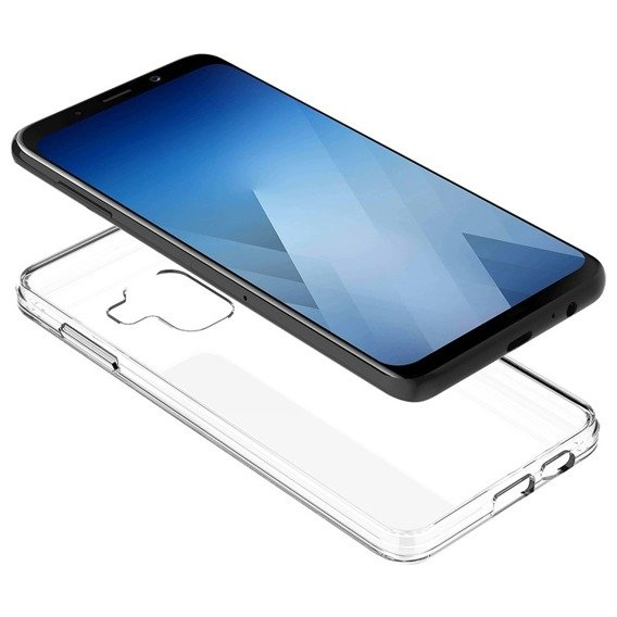 Etui ERBORD Fusion do Samsung Galaxy A8 2018 - Clear