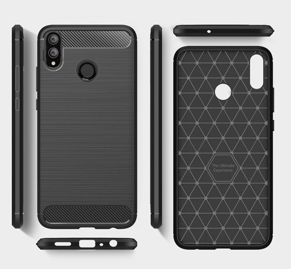Etui ERBORD Karbon do Huawei Honor 8X Max - Black