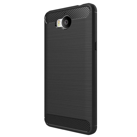 Etui ERBORD Karbon do Huawei Y5 2017 - Black