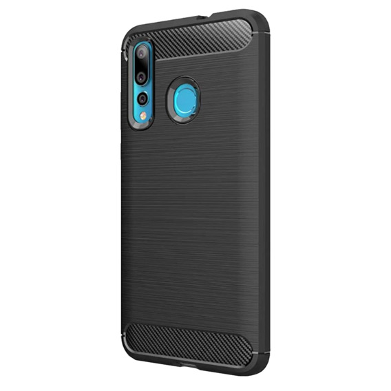 Etui ERBORD Karbon do Huawei Y7 2019 - Black