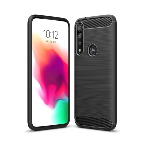Etui ERBORD Karbon do Motorola Moto G8 Plus - Black