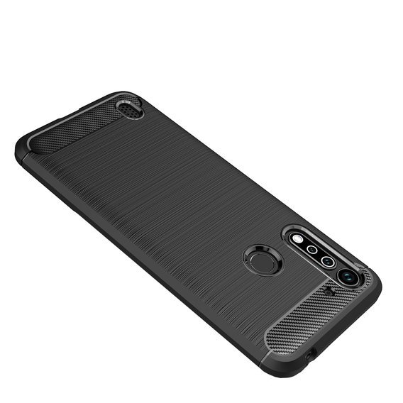 Etui ERBORD Karbon do Motorola Moto G8 Power Lite - Black