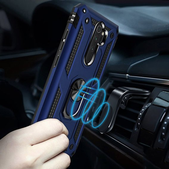 Etui ERBORD NOX do Xiaomi Redmi Note 8 Pro - Blue