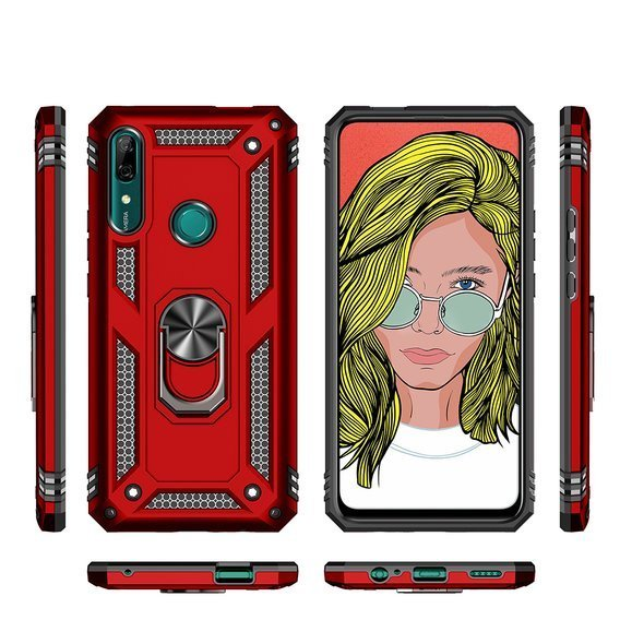 Etui ERBORD Nox do Huawei P Smart Z - Red