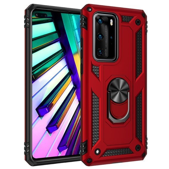 Etui ERBORD Nox do Huawei P40 Pro - Red