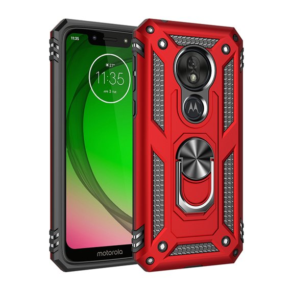 Etui ERBORD Nox do Motorola Moto G7 Power - Red