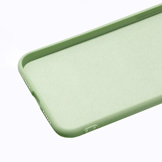 Etui ERBORD Silicon Lite do iPhone 7/8/SE 2020 - Light green
