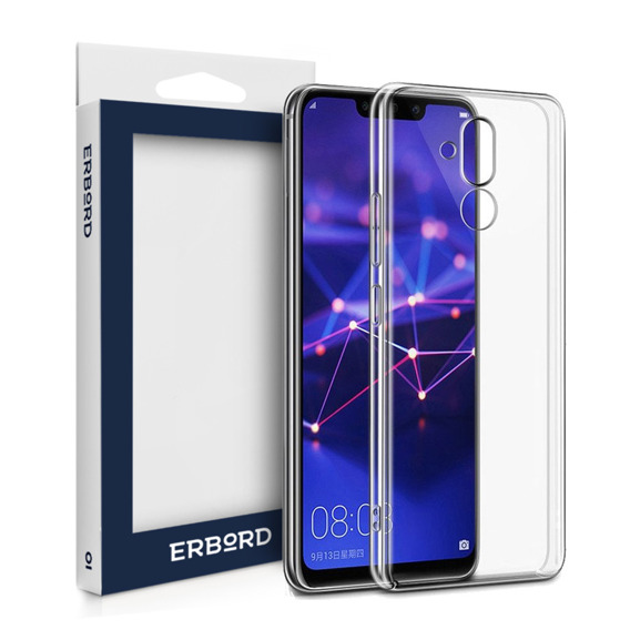 Etui ERBORD Slim Case do Huawei Mate 20 Lite - Clear