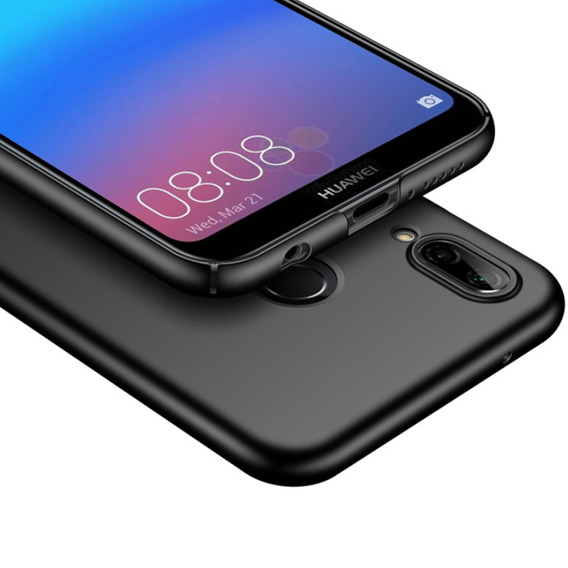 Etui ERBORD Slim Case do Huawei P20 Lite - Matt Black