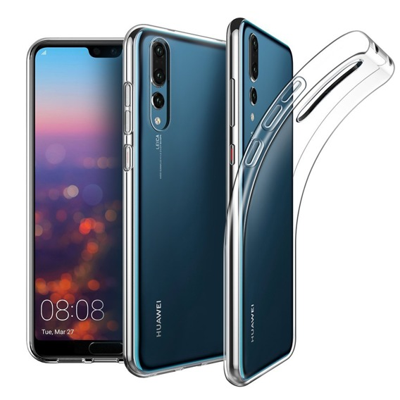 Etui ERBORD Slim Case do Huawei P20 Pro - Clear