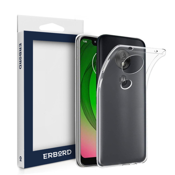 Etui ERBORD Slim Case do Motorola Moto G6 Play - Clear
