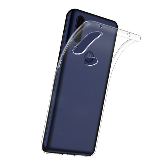 Etui ERBORD Slim Case do Motorola One - Clear